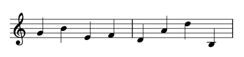 音高の練習問題