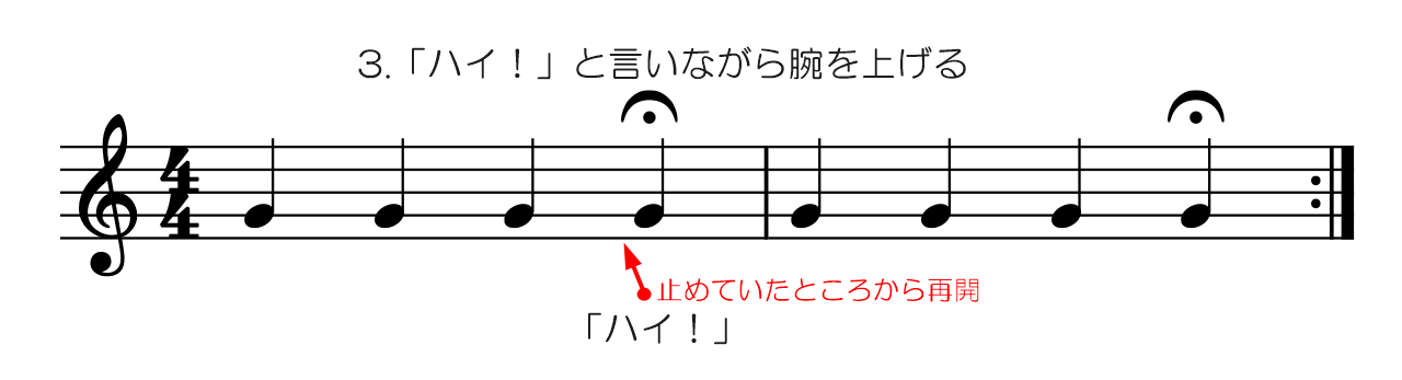 フェルマータ基本形-3