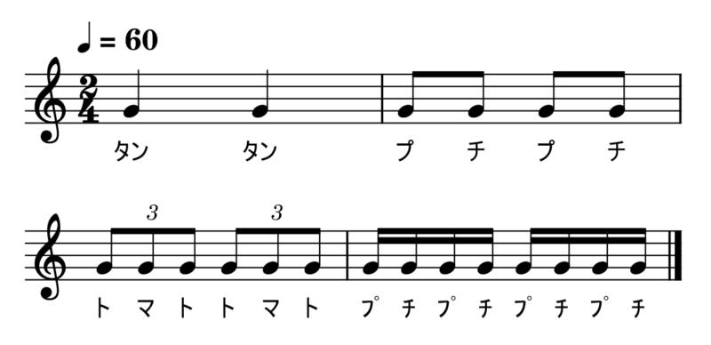 3連符【基本プチトマト】