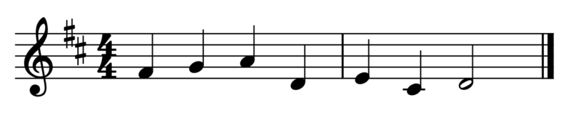 移動ドで歌う手順(練習問題)
